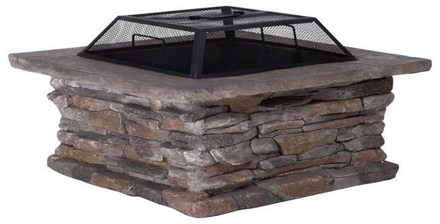 Square Portable Fire Pit : Diy fire pit ideas i love grill