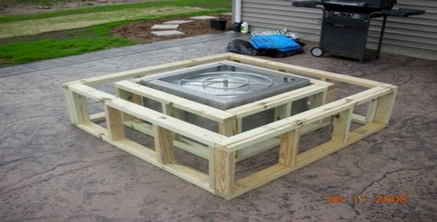 Square Fire Pit Designs : Diy fire pit ideas page of i love grill