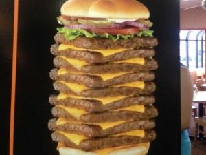 a-disgusting-9-patty-burger-from-a-spoof-ad-is-now-banned-from-wendys