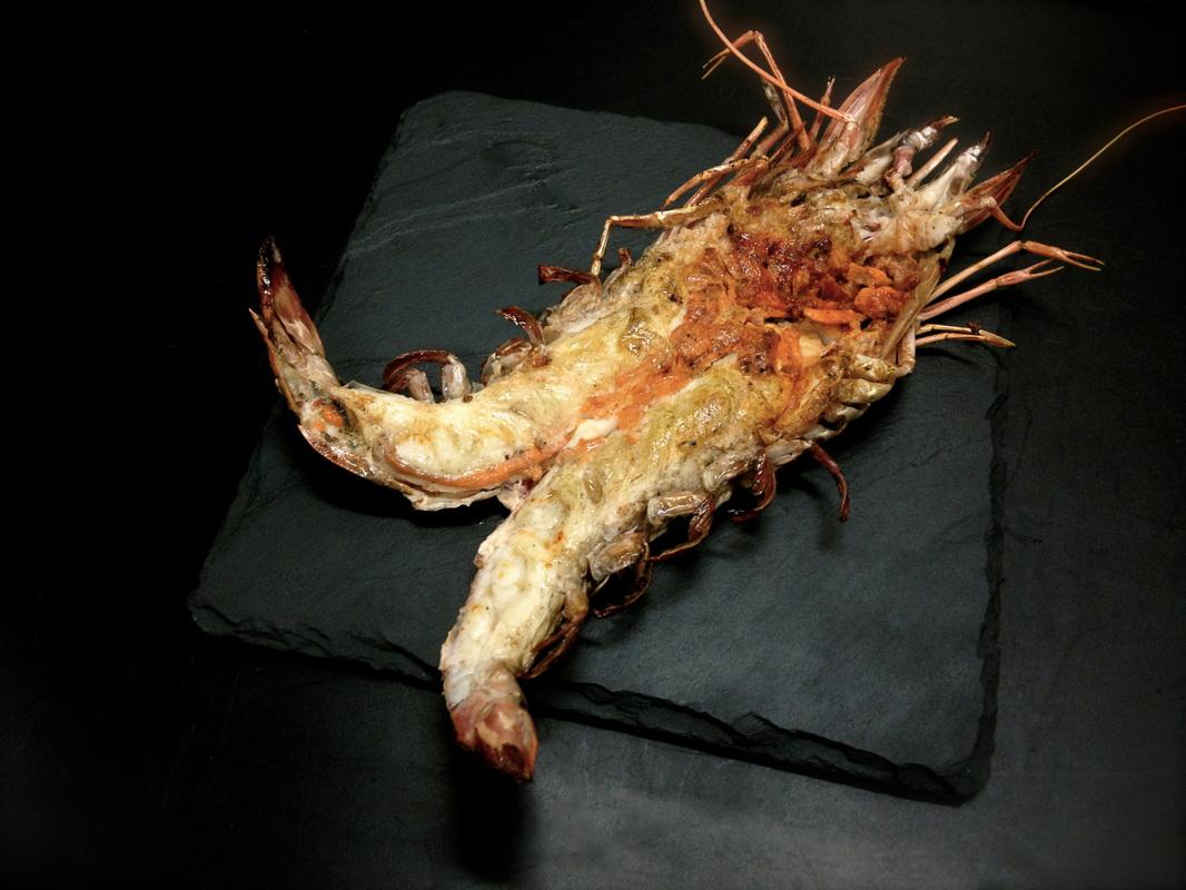 Image Grilled Giant Shrimps I Love Grill