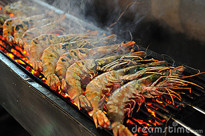 Image Grilled Giant Shrimps I Love Grill