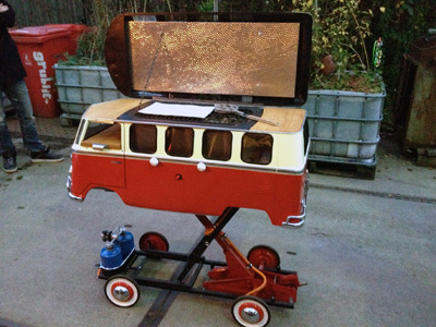 video volkswagen bbq bus mania page     love grill