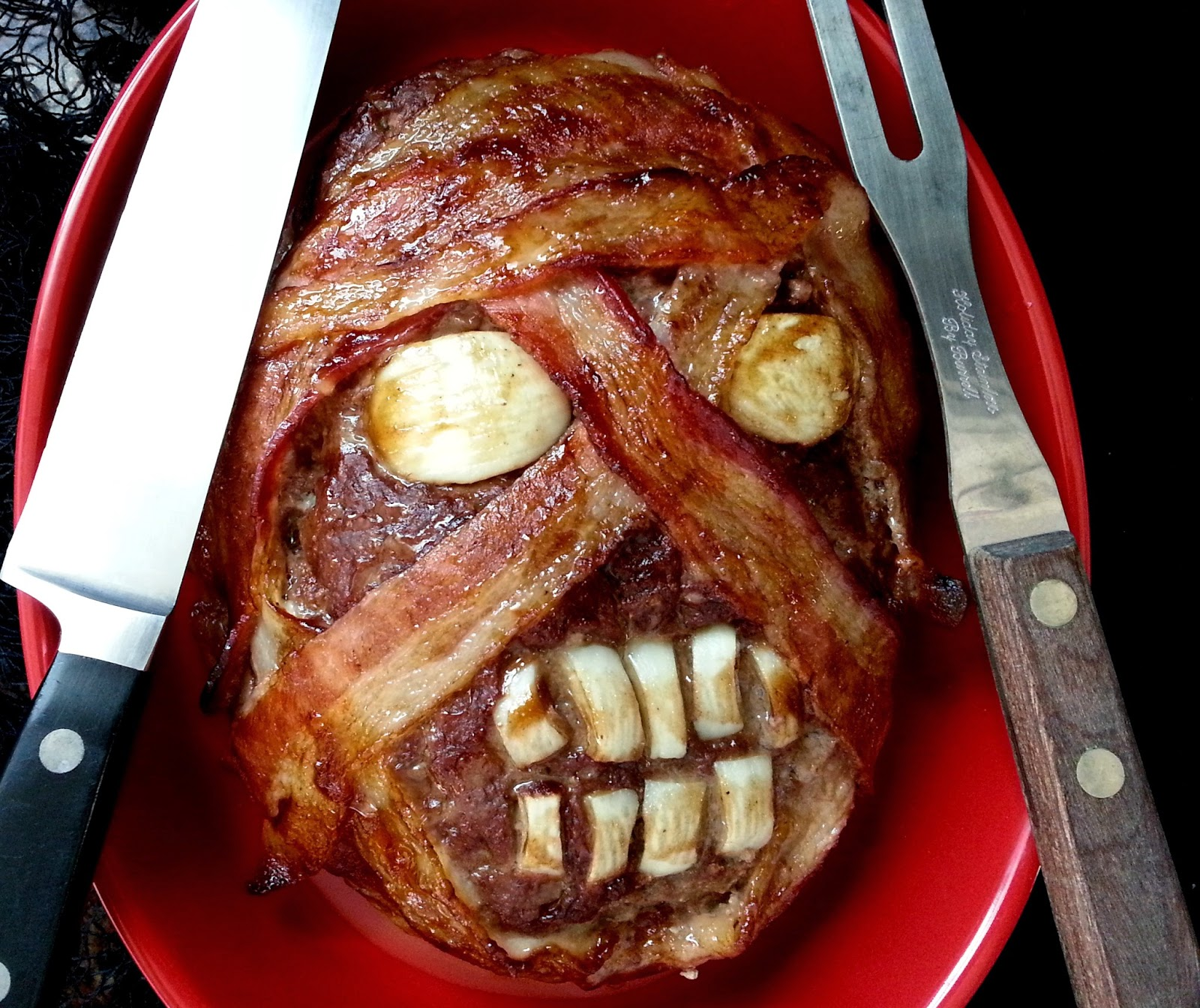 Pictures Halloween Treats Bacon Heads I Love Grill