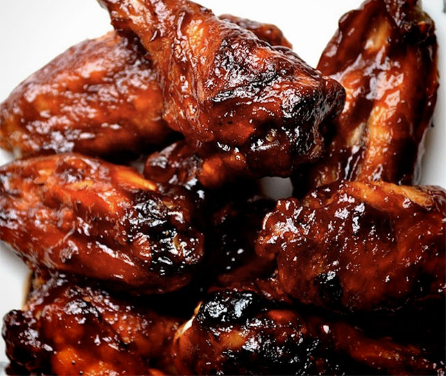 Super Smokers Sweet and Spicy Chicken Wings - I Love Grill
