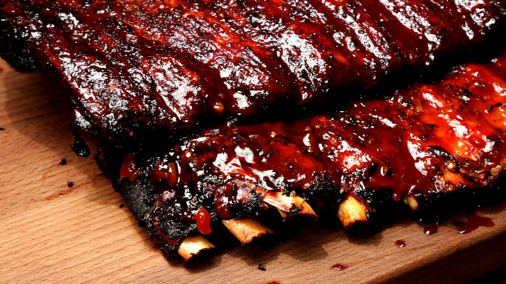 Bacon Flavored Ribs I Love Grill