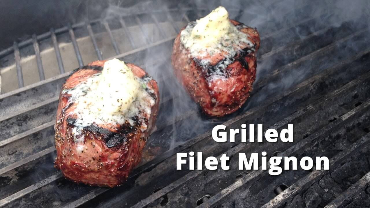 Grilled filet mignon i love grill - Best marinade for filet mignon on grill ...