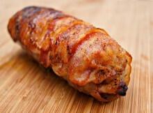 Bacon Chicken Pork Sausage Roll Recipe