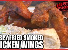 Crispy Fried Smoked Chicken Wings