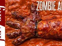 Barbecued Zombie Skin Recipe — Dishmaps