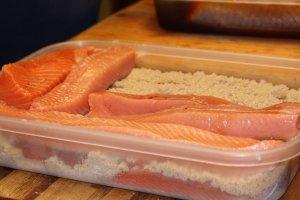 2 Ingredient Smoked Salmon