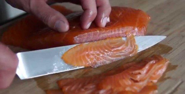 Cold Smoked Salmon