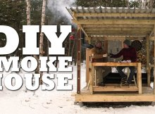 How To Build a SMOKEHOUSE in Snow