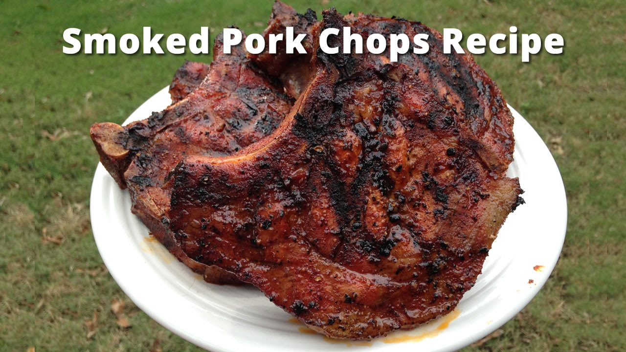 How To Smoke Pork Chops - I Love Grill