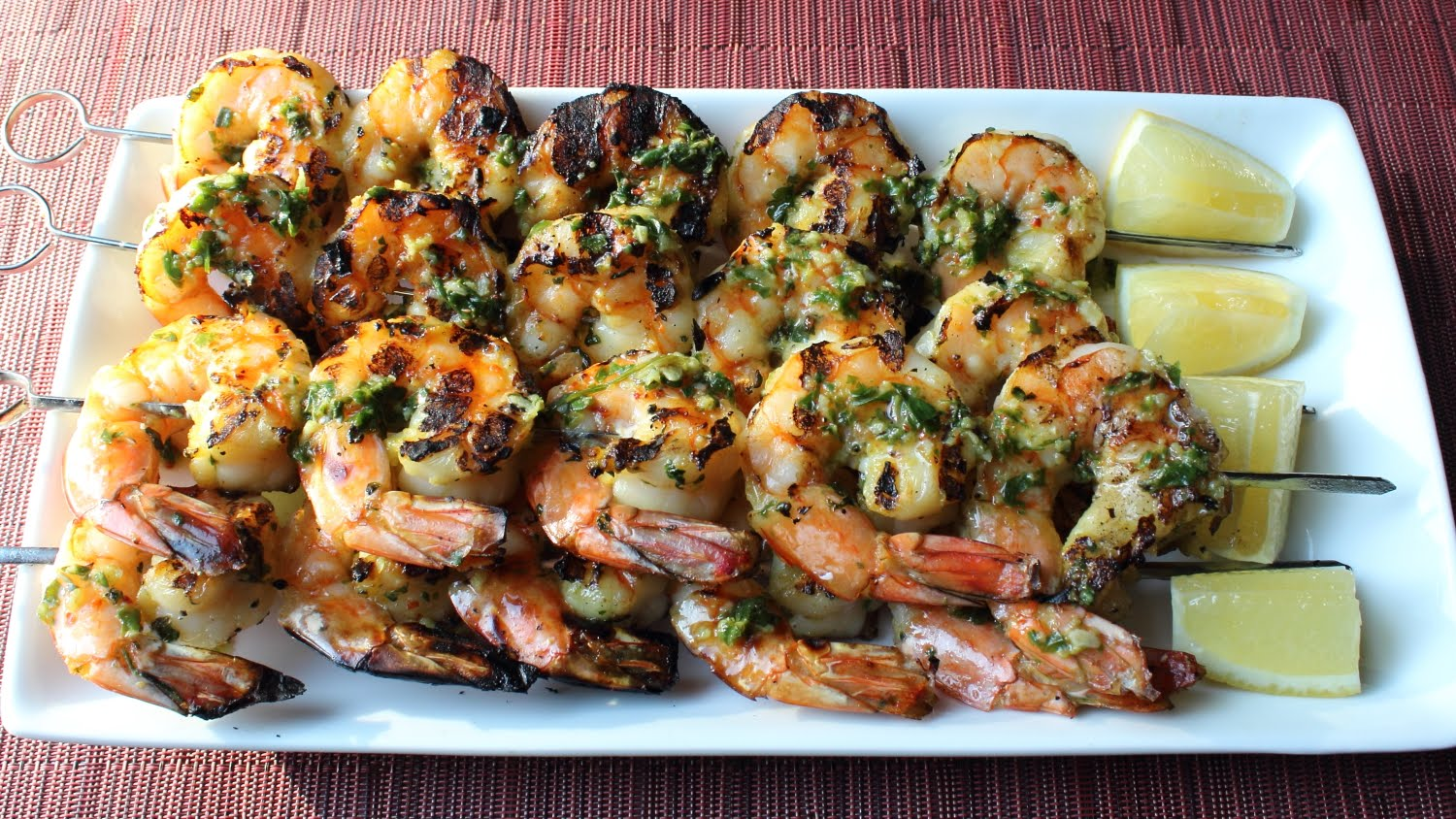 Grilled Garlic & Herb Shrimp - How to Make Grilled Garlic Herb Shrimp ...