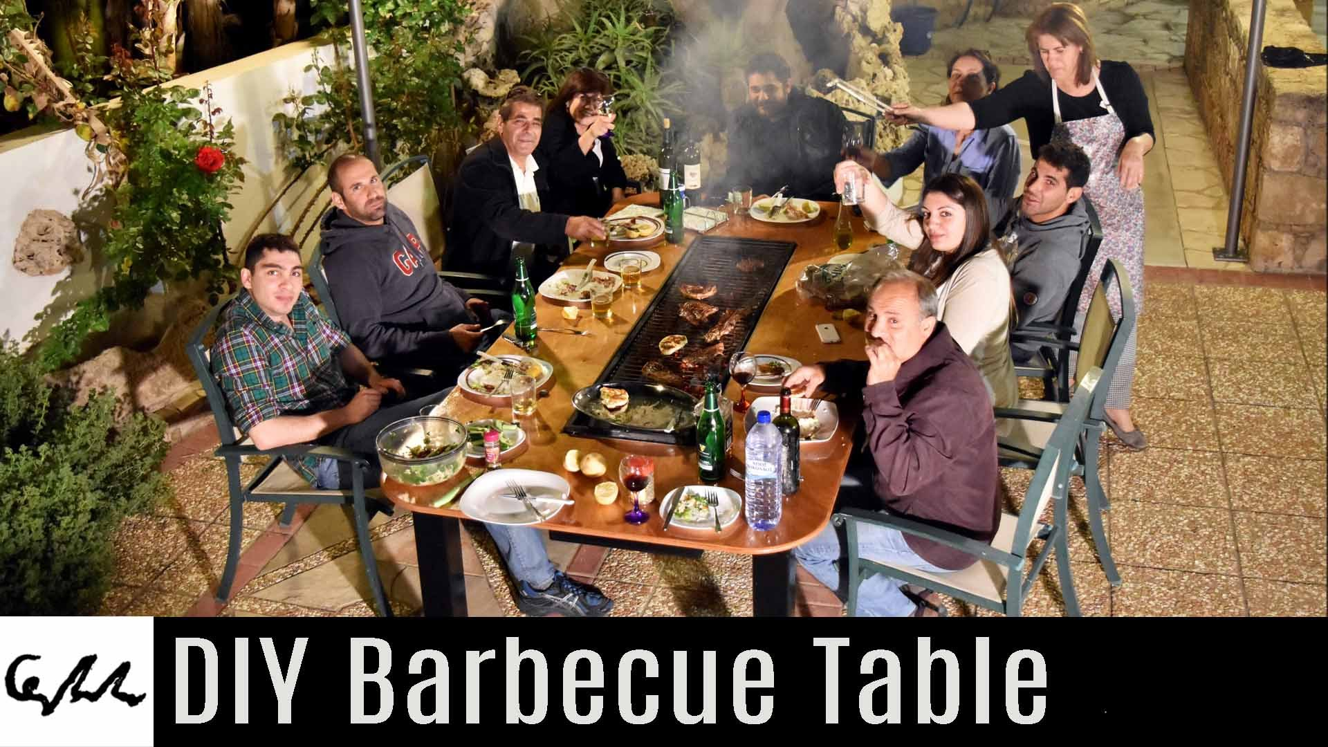 Quot Not So Quot Diy Barbecue Table I Love Grill