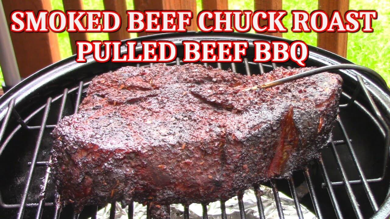 How To Smoke A Beef Chuck Roast I Love Grill