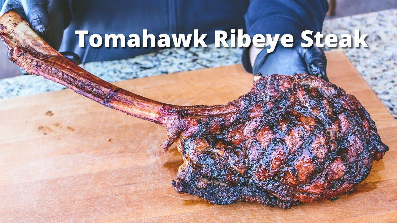 Tomahawk Ribeye Steak I Love Grill